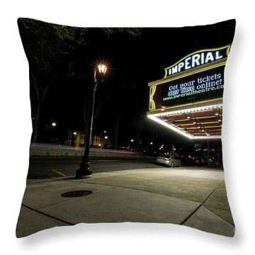 Imperial Theatre Augusta Ga Throw Pillow