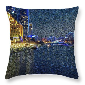 Impression Of Melbourne Throw Pillow