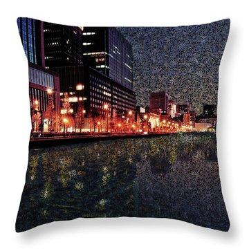 Impression Of Tokyo Throw Pillow