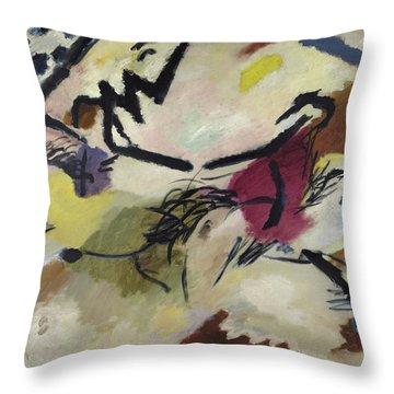 Improvisation 20, 1911 Throw Pillow