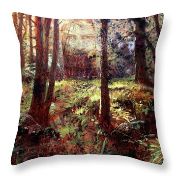 In Him We Live, And Move, And Have Our Being Throw Pillow