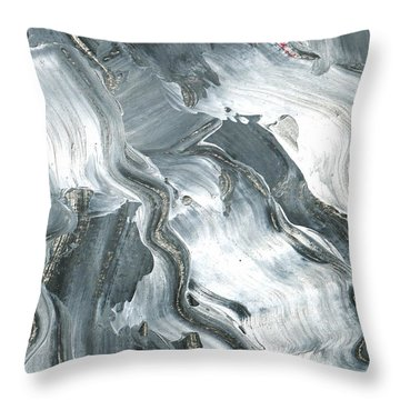 In Motion 2 Throw Pillow