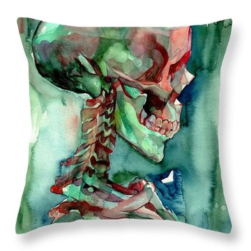 In Reverie Throw Pillow
