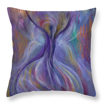 In Search Of Grace Throw Pillow