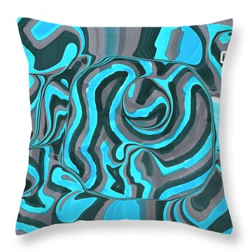 In The Depth Throw Pillow
