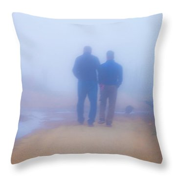In The Mist 2 Throw Pillow