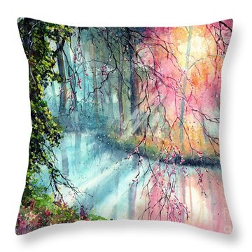 In The Nature Reserve Throw Pillow