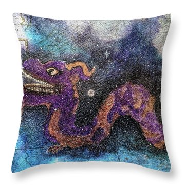 In The Night Sky  Throw Pillow