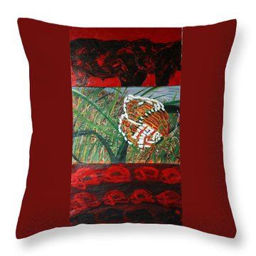 In The Scheme Of Things Throw Pillow