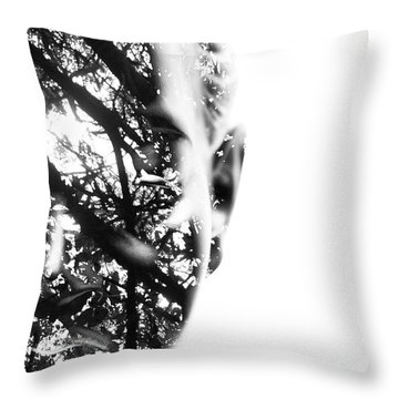 In Vision Throw Pillow