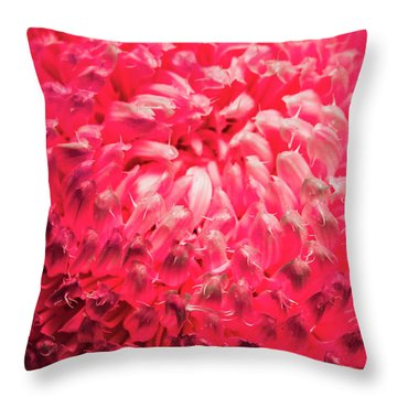 In Wild Detail Throw Pillow