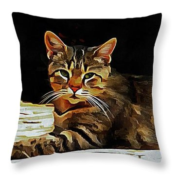 Indecision Rules Okay Throw Pillow