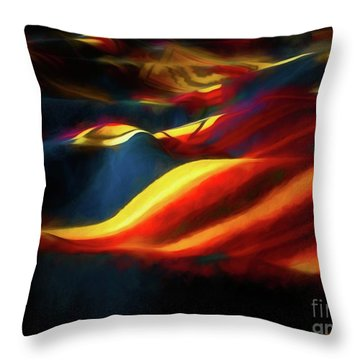 Throw Pillow featuring the photograph Indian Blanket by Jon Burch Photography
