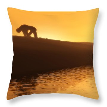 Indomitable Throw Pillow