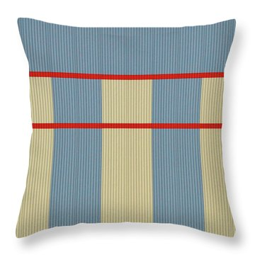 Industrial Minimalism 8 Throw Pillow
