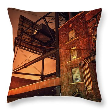 Industrial Sky Throw Pillow