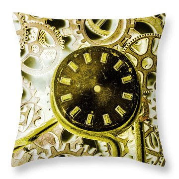 Industrialized Throw Pillow