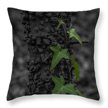 Industrious Ivy Throw Pillow