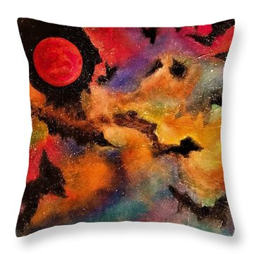 Infinite Infinity Throw Pillow