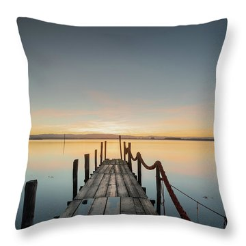 Throw Pillow featuring the photograph Infinity by Bruno Rosa