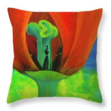 Inner Beauty - The Ritual Throw Pillow