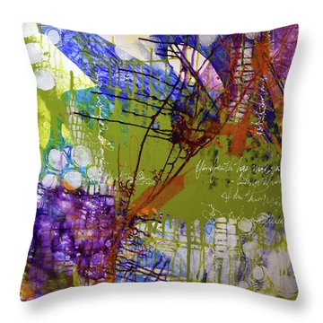 Inner Faith Throw Pillow