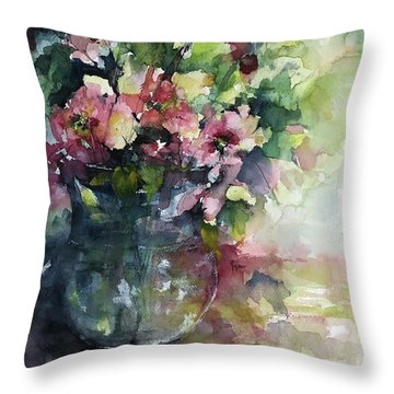Innocent Elegance Throw Pillow
