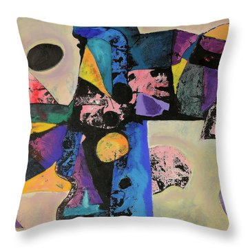 Intense Thrust Throw Pillow