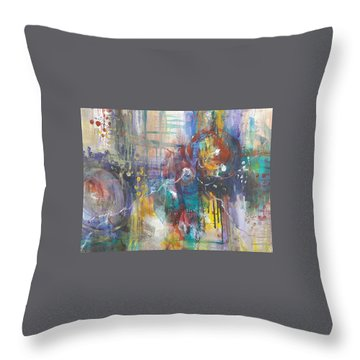Interconnected Throw Pillow