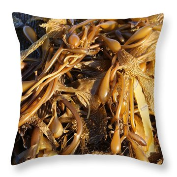 Interesting Kelp Throw Pillow
