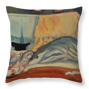 Inspired By Mary Throw Pillow