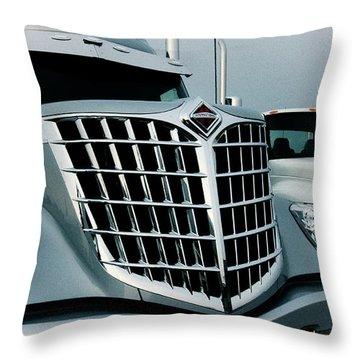 Beauty Of Trucks 1 Throw Pillow