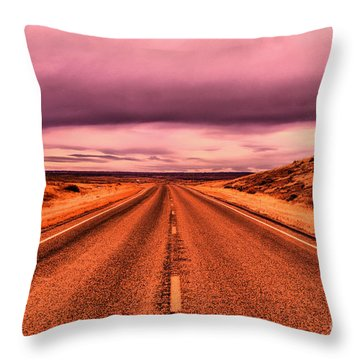 Into Nothingness  Throw Pillow
