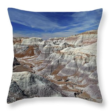 Into The Past Throw Pillow