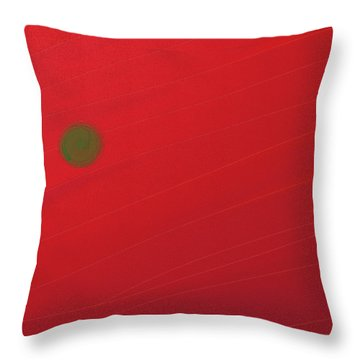 Inverse Sunset Throw Pillow
