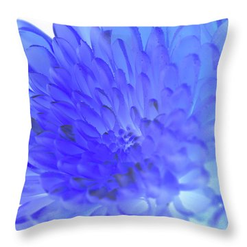 Inverted Flower Throw Pillow