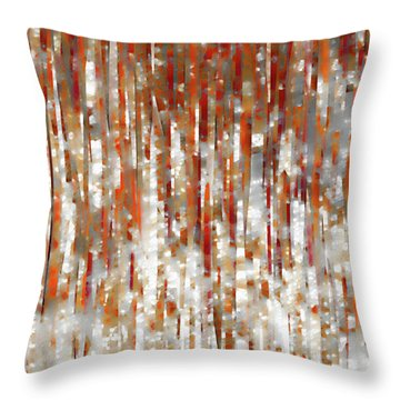 Isaiah 54 17. Under His Care Throw Pillow