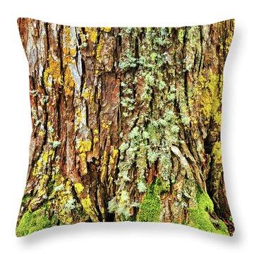 Island Moss Throw Pillow