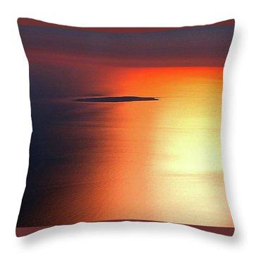 Islands Throw Pillow