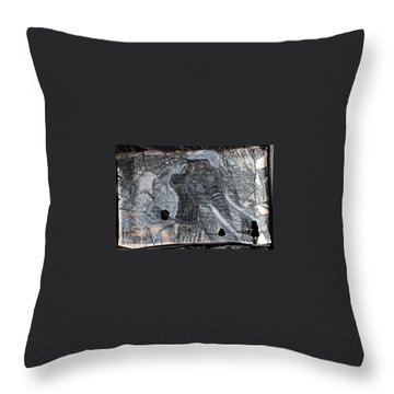 Isn't There Always An Elephant That No One Can See Throw Pillow