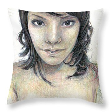 Isolate Throw Pillow