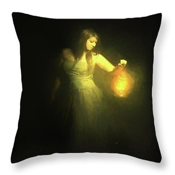It Beckons Me Throw Pillow