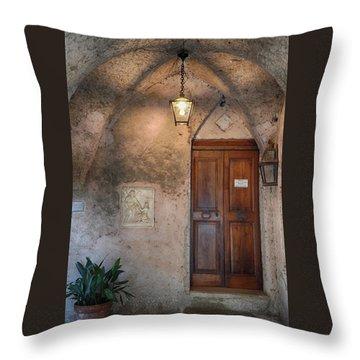 Italian Charm Throw Pillow