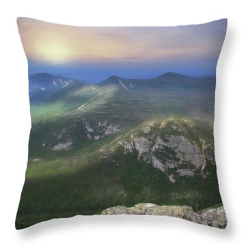 It's A Big World Out There Throw Pillow