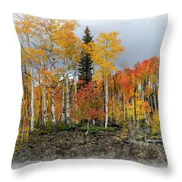 It's All About The Trees Throw Pillow