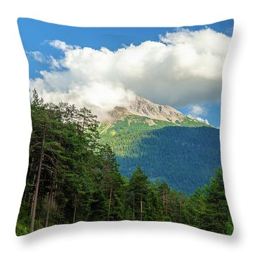 It's Cloudy Up In Here Throw Pillow