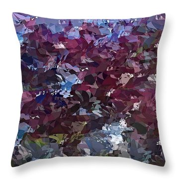 It's Lilac Throw Pillow