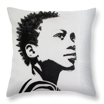 I've Earned My Stripes Throw Pillow