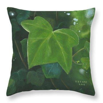 Ivy Waltz Throw Pillow