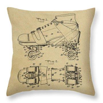 J. L. Plimpton, Roller Skate, Patented Dec.8,1908. Throw Pillow